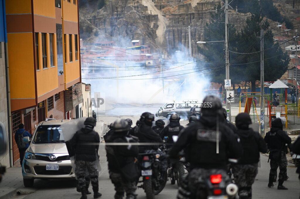 Coca farmer dispute in Bolivia