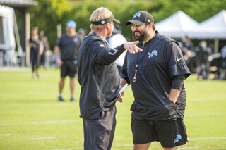 Matt Patricia and Jon Gruden
