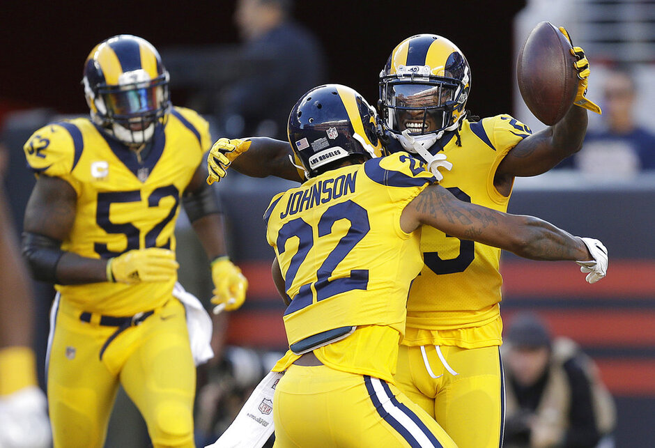 Nickell Robey-Coleman, Trumaine Johnson