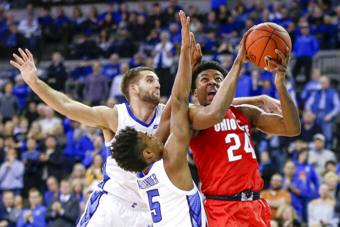 Ohio State Buckeyes at Creighton Bluejays 11/15/2018
