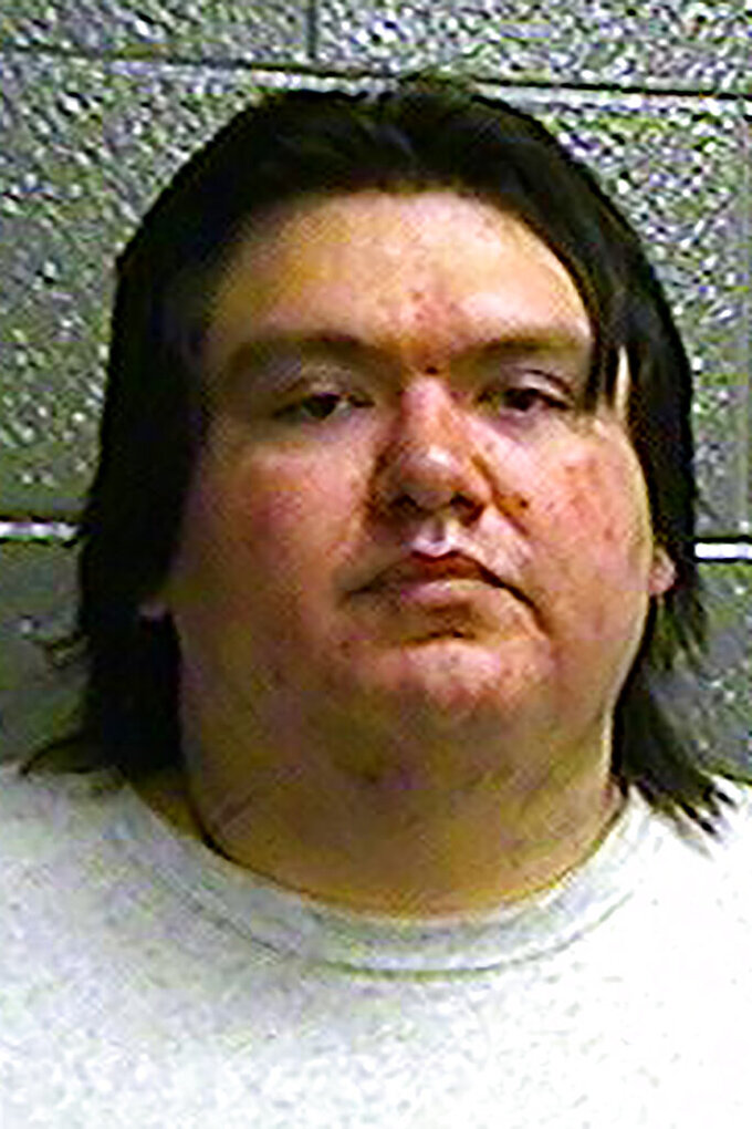 This undated photo provided by the Oklahoma Department of Corrections shows Charles Michael Cooper. The Oklahoma Court of Criminal Appeals on Thursday, April 8, 2021, overturned another state murder conviction because of a U.S. Supreme Court ruling that much of eastern Oklahoma remains an American Indian reservation. Chickasaw Nation member Charles Michael Cooper was convicted and sentenced to life without parole for the 2016 death of Cindy Allen. The U.S. Supreme Court last year ruled, in what is known as the McGirt decision, that Oklahoma lacks jurisdiction for crimes on tribal reservations in which the defendants or victims are tribal citizens. (Oklahoma Department of Corrections via AP)