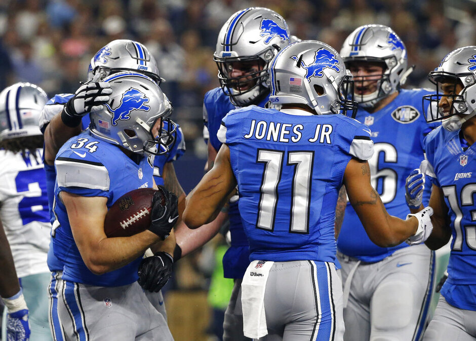 Zach Zenner, Marvin Jones