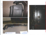 This combination of photos released by the Clovis Police Department on Jan 21, 2021, shows an AK-74 that was recovered by chance in 2019. Military policemen stole the gun in 2011 from Fort Irwin, a U.S. Army base in California's Mojave Desert. (Clovis Police Department via AP)
