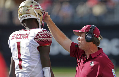 Jimbo Fisher, James Blackman