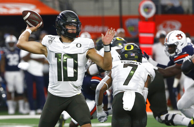 No. 16 Oregon looks to get on track against Nevada