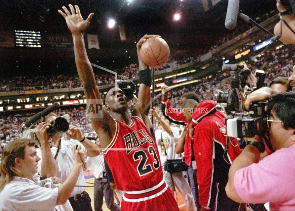 Associated Press Sports Arizona United States NBA FINALS BULLS JORDAN