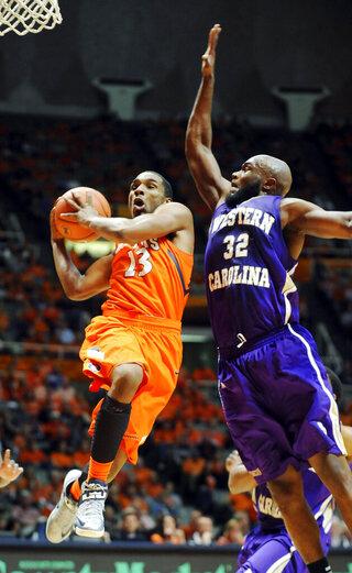 Western Carolina Illinois Basketball