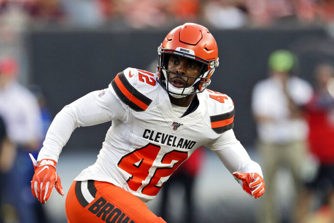 Browns could be missing several starters Sunday against Rams