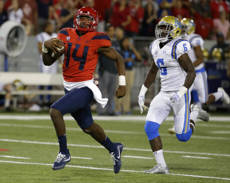 Arizona Spectaculat Tate Football