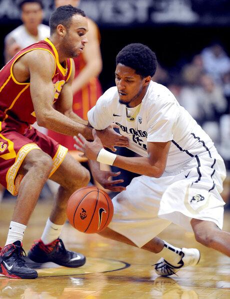 Colorado USC NCAA Men's Basketball