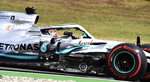 Mercedes driver Lewis Hamilton of Britain steers his car during the qualifying Formula One session at the Hockenheimring racetrack in Hockenheim, Germany, Saturday, July 27, 2019. The German Formula One Grand Prix will be held on Sunday. (AP Photo/Jens Meyer)