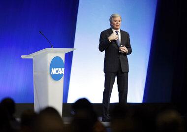 NCAA Convention Emmert