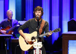 FILE - In this July 16, 2019 file photo, Chris Janson performs at