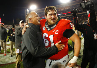Mark Richt, David Andrews
