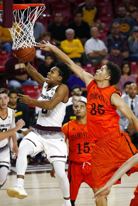 Idaho St Arizona St Basketball