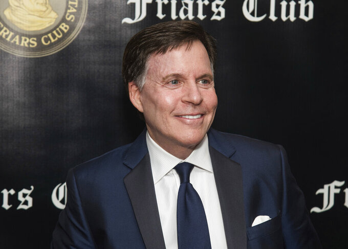 FILE - Bob Costas attends the Friars Club Entertainment Icon Award ceremony honoring Billy Crystal in New York on Nov. 12, 2018. CNN announced that Costas will join their network as an on-air contributor. (Photo by Charles Sykes/Invision/AP, File)