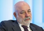 FILE - In this file photo taken on Tuesday, May 31, 2016, Russian businessman Viktor Vekselberg attends the Russian International Affairs Council in Moscow, Russia. (AP Photo/Pavel Golovkin, File)