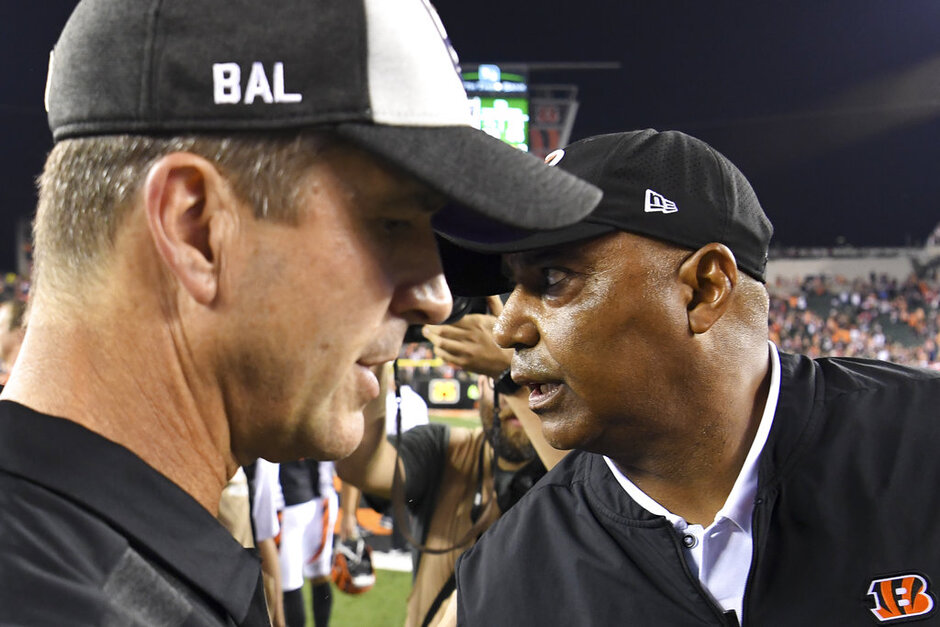 Marvin Lewis, John Harbaugh
