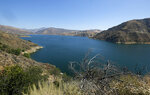 CORRECTS LAKE NAME TO PIRU - This Thursday, July 9, 2020 photo shows a view of Lake Piru in California. Authorities say former