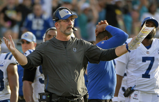 Indianapolis Colts at Jacksonville Jaguars 12/2/2018