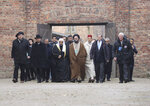 "A delegation of Muslim religious leaders visit Auschwitz together with a Jewish group in what organizers called ""the most senior Islamic leadership delegation"