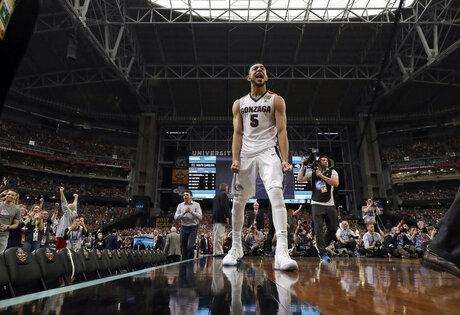 APTOPIX Final Four South Carolina Gonzaga Basketball