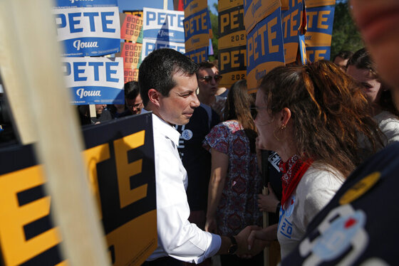 APTOPIX Election 2020 Pete Buttigieg