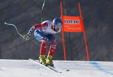 South Korea Ski WCup Men's Downhill