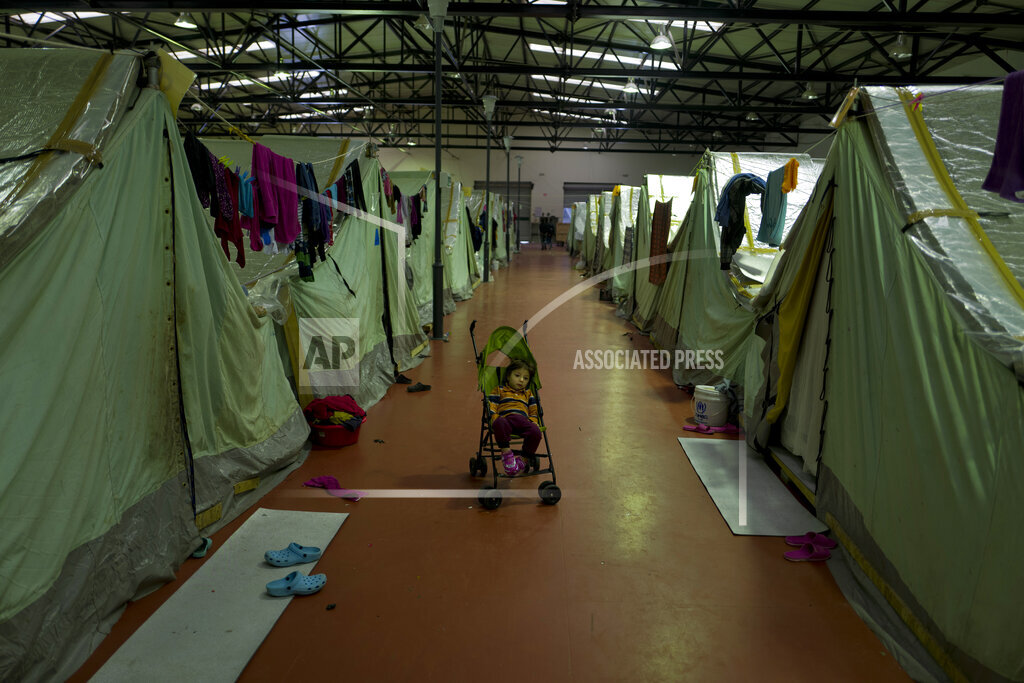 Greece Migrant Burnout Photo Gallery