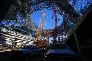 Falcons Georgia Dome Farewell