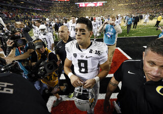 APTOPIX Playoff Championship Ohio St Oregon Football