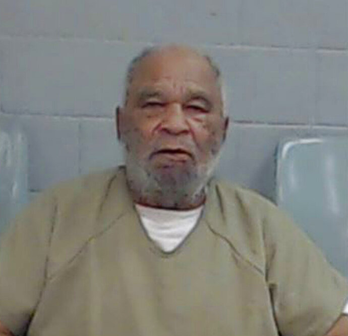 FILE - This undated file photo provided by the Ector County Texas Sheriff's Office shows Samuel Little. Little, who has confessed to killing more than 90 women across the U.S. An Arkansas woman's death has been linked to Little, who may be the most prolific serial killer in U.S. history. Authorities say Little has confessed to the 1994 murder of Jolanda Jones of Pine Bluff. The 26-year-old's death had been determined to be drug-related. (Ector County Texas Sheriff's Office via AP, File)