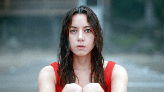 This image released by eOne/Momentum Pictures shows Aubrey Plaza in a scene from