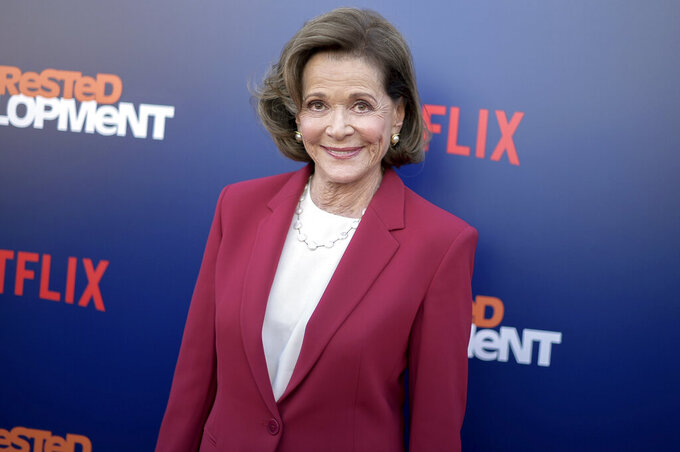 "FILE - In this May 17, 2018 file photo, Jessica Walter attends the LA Premiere of ""Arrested Development"" Season Five in Los Angeles. Walter, who played a scheming matriarch in television series, has died. She was 80. Walter's death was confirmed Thursday, March 25, 2021, by her daughter, Brooke Bowman. The actor's best-known film roles included playing the stalker in Clint Eastwood's 1971 thriller, ""Play Misty for Me."" (Photo by Richard Shotwell/Invision/AP, File)"