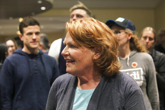 Election 2018 Senate Heitkamp North Dakota