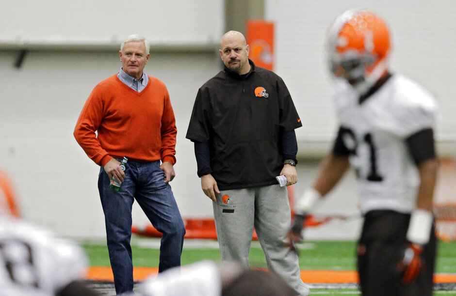 =Jimmy Haslam, Mike Pettine