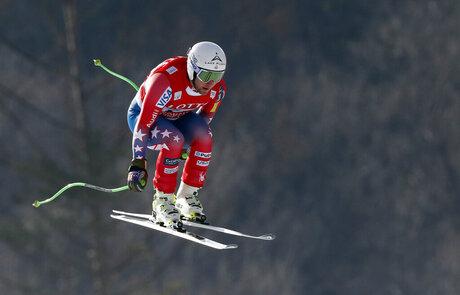 South Korea Ski WCup Men's Downhill