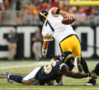 Steelers Rams Football