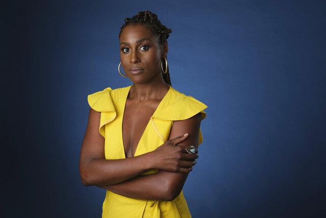 FILE - This July 24, 2019 file photo shows Issa Rae, an executive producer of the HBO comedy series
