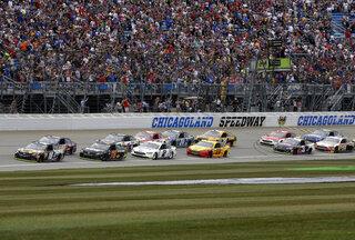 NASCAR Chicagoland Auto Racing
