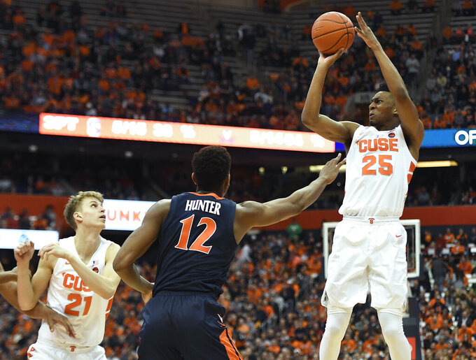 Syracuse's Battle will not play vs. Pitt in ACC Tournament