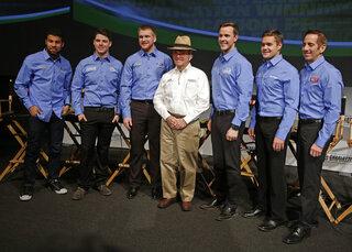 Bubba Wallace, Ryan Reed, Chris Buscher, Trevor Bayne, Ricky Stenhouse Jr, Greg Biffle, Jack Roush