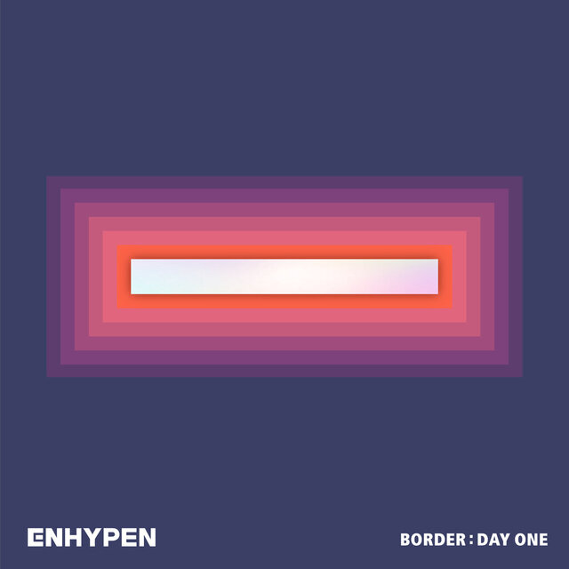"This cover image released by Belift Lab shows ""Border: Day One"" by ENHYPEN. (Belift Lab via AP)"