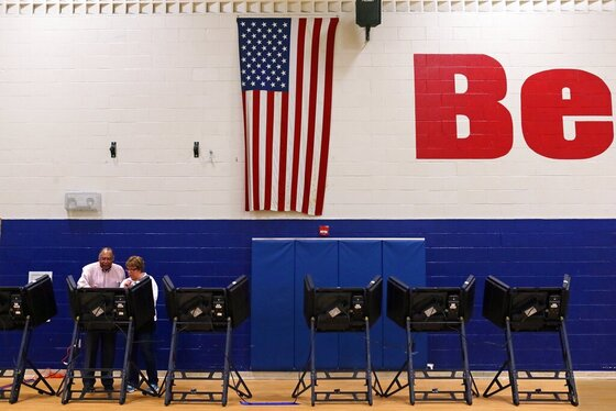 Voting in the Republican and Democratic primaries