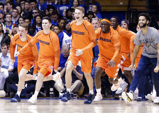 APTOPIX Syracuse Duke Basketball