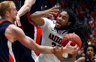 NIT Arizona Bucknell Basketball