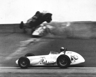 Indy 500 1959 Countdown Race 43 Auto Racing