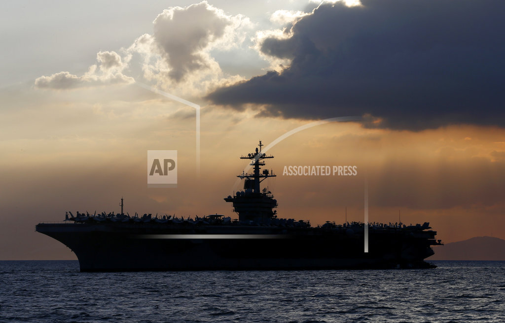 Philippines South China Sea Theodore Roosevelt