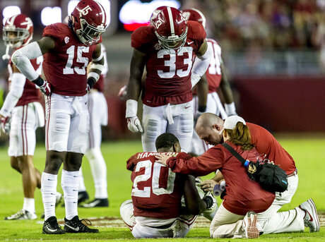Alabama Defense Injuries Football