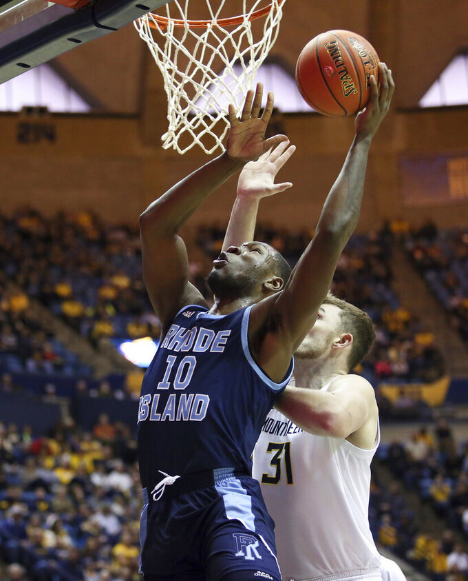 Rhode Island Rams at West Virginia Mountaineers 12/1/2019